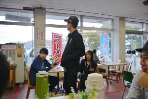 散策のあとは流石にお腹がすいて「ガッツリ」昼食~「名物きりたんぽ」が大人気!!