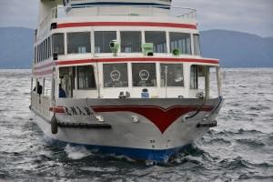 十和田湖といえは「これでしょう!!」しかし今回は時間がないため乗船かなわず~残念!!
